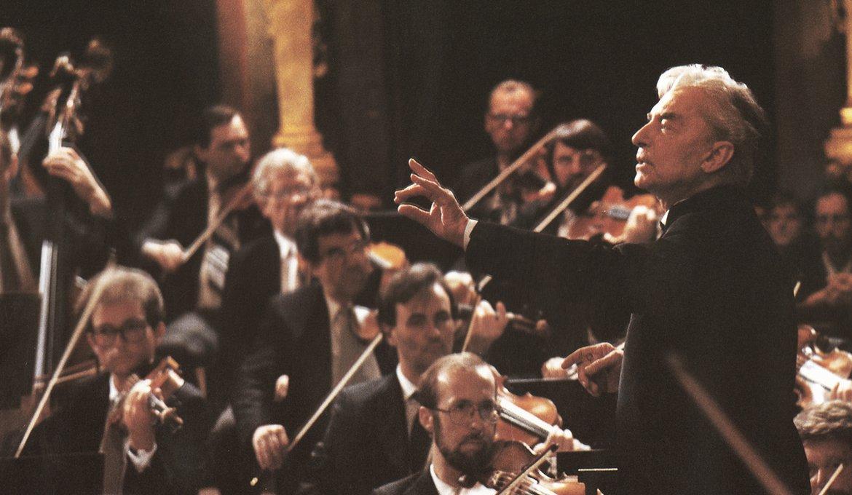 Wiener Philharmoniker mit Herbert von Karajan