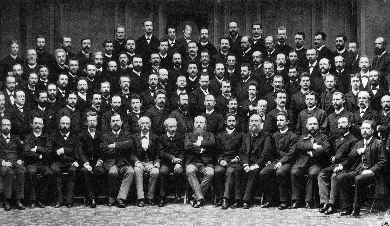 Wiener Philharmoniker mit Hans Richter, 1885