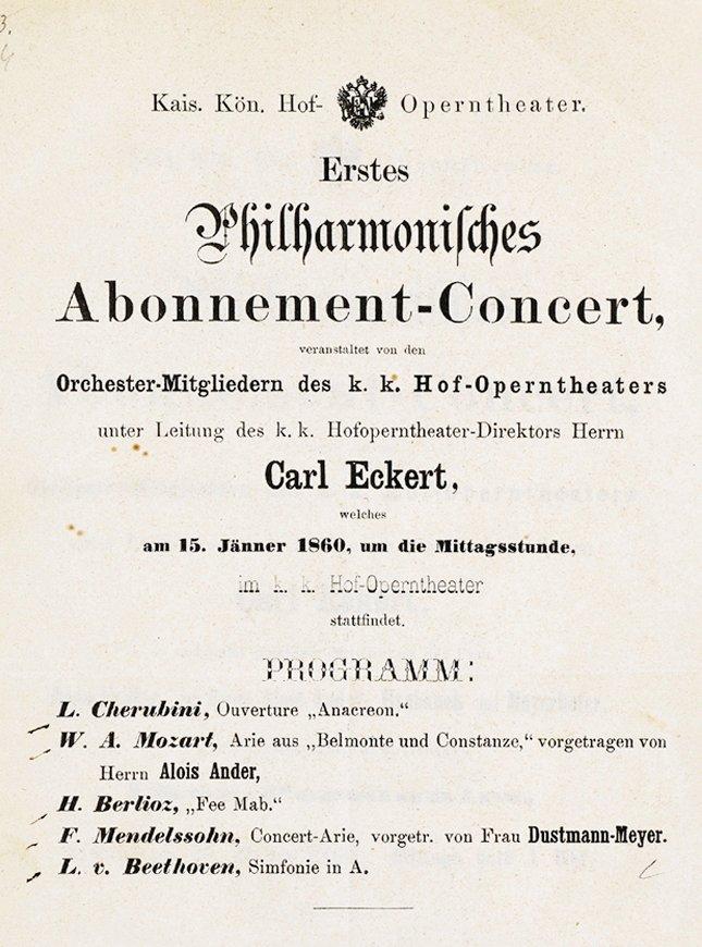 1. Abonnement Konzert