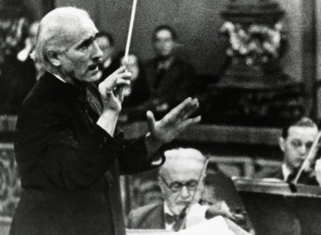 Arturo Toscanini und Arnold Rosé, 1930