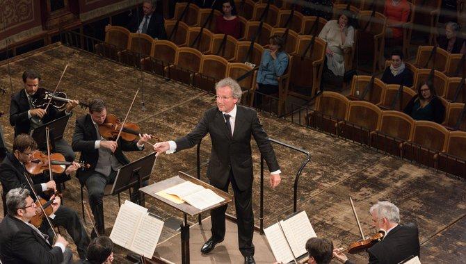 フランツ・ウェルザー=メストとウィーン・フィルハーモニー管弦楽団 2020年6月