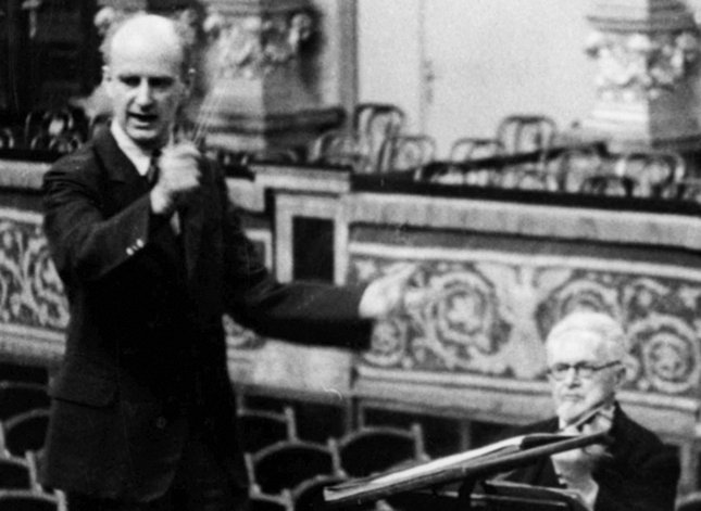 Wilhelm Furtwängler and Arnold Rosé, 1935