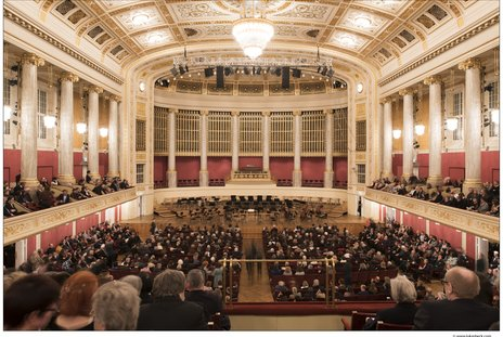 ウィーン・コンツェルトハウスの大ホール