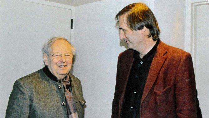 André Previn in der New Yorker Carnegie Hall 2008